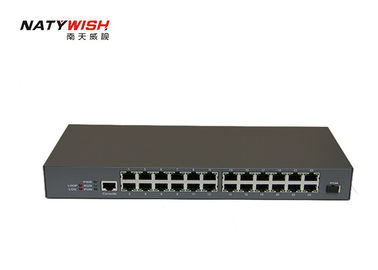 1.25Gbps 16 Haven MDU ONU 1 PON-haven 16 * 10/100M RJ45 havens voor de Video Controle van HD